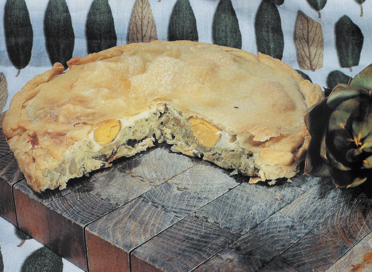 Овощной пирог «Паскуалина»