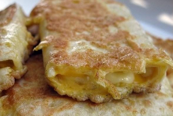 Омлет с сыром из лаваша рецепт с фото 8