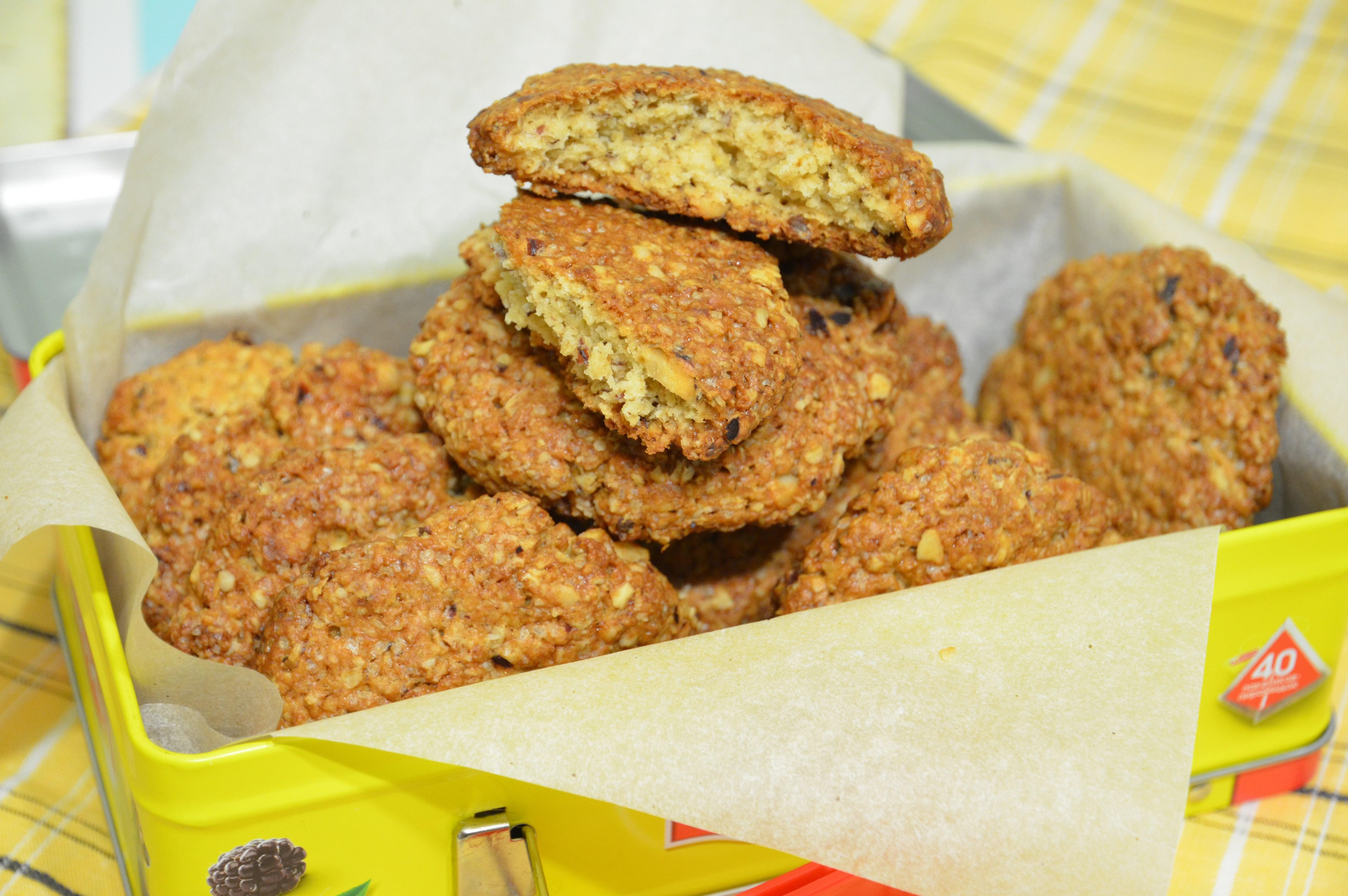 Диетическое печенье из геркулеса рецепт пошагово в