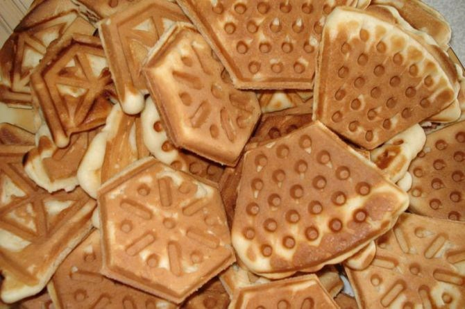 Старый рецепт печенья форма сковородка