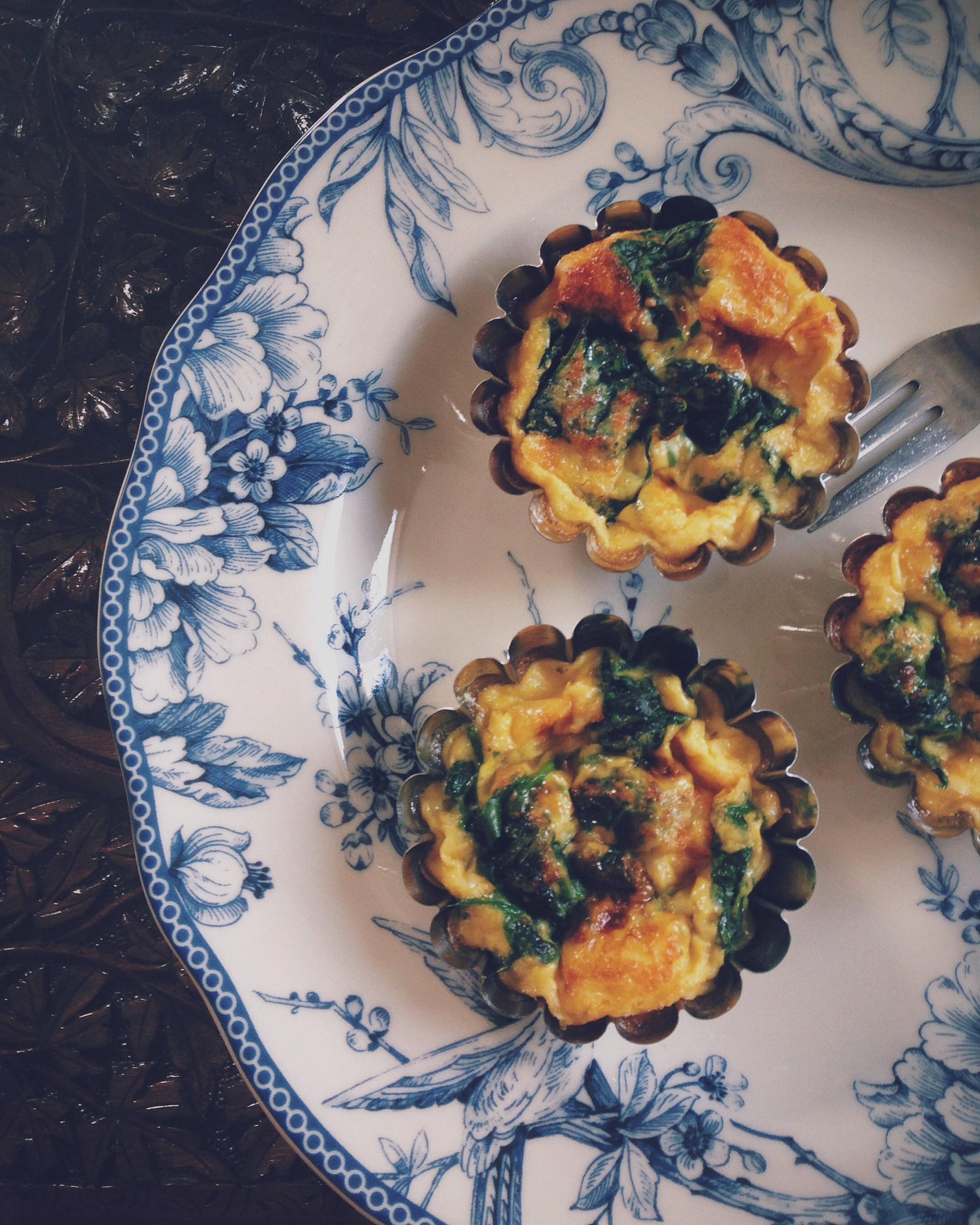 рецепт омлет со шпинатом в духовке рецепт