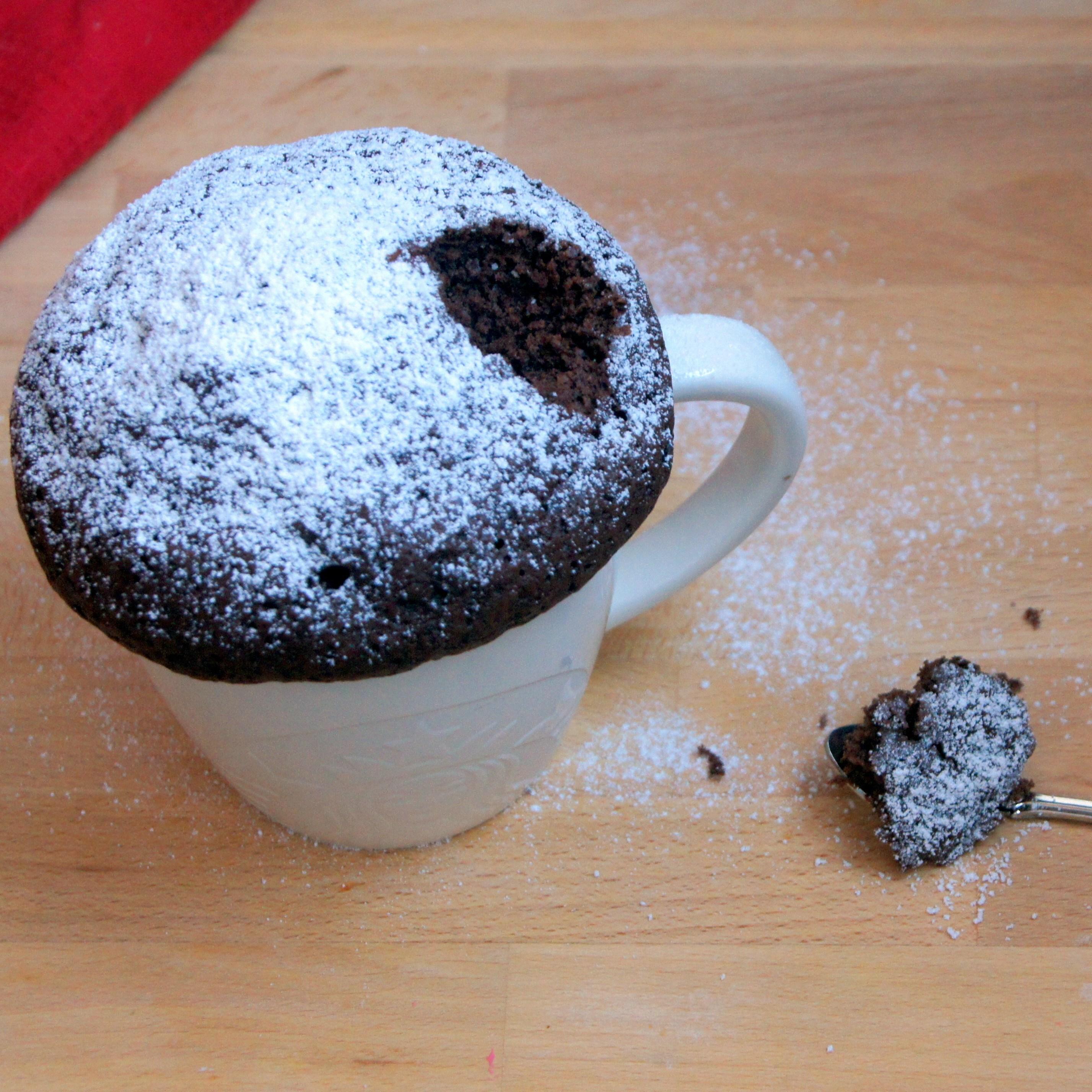 Шоколадный кекс в микроволновке рецепты пошагово