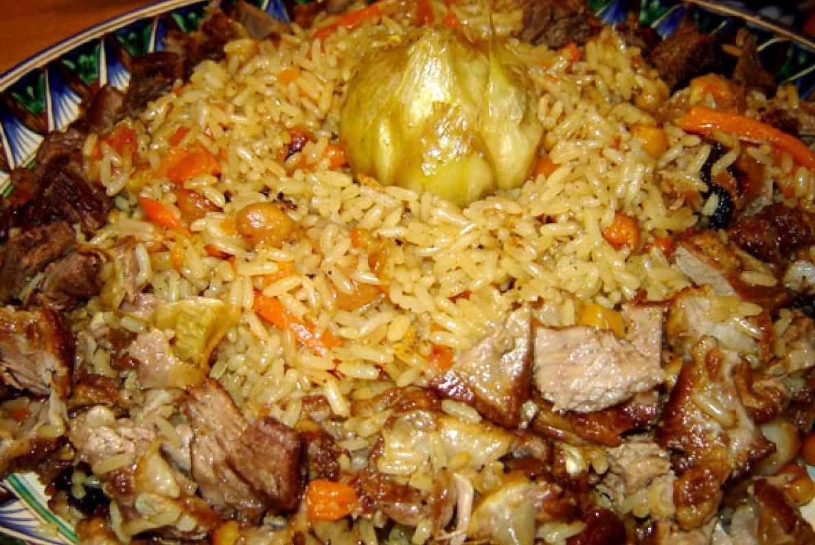 Узбекский плов рецепт с пошагово в домашних условиях