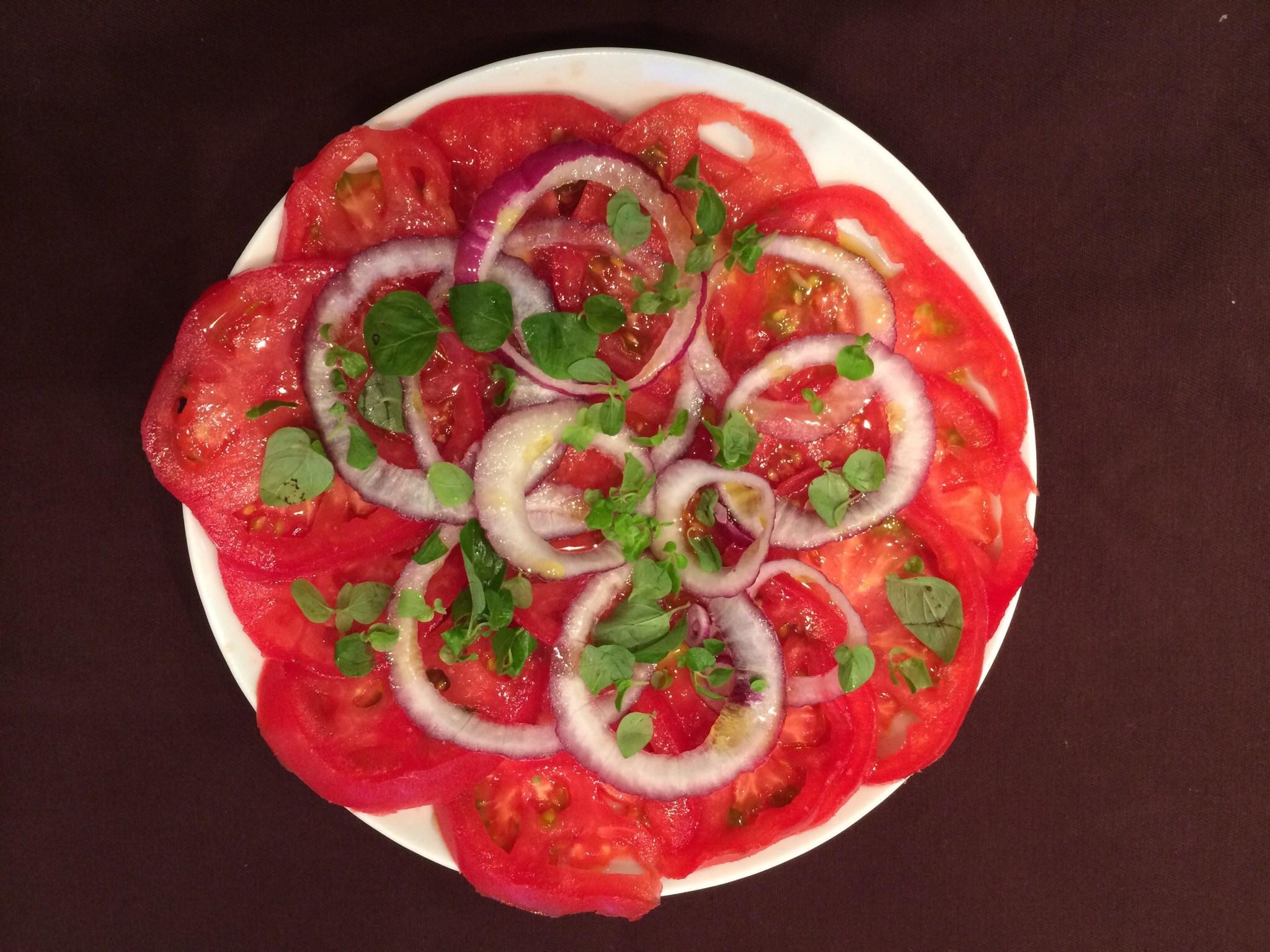 Карпаччо из помидоров рецепт