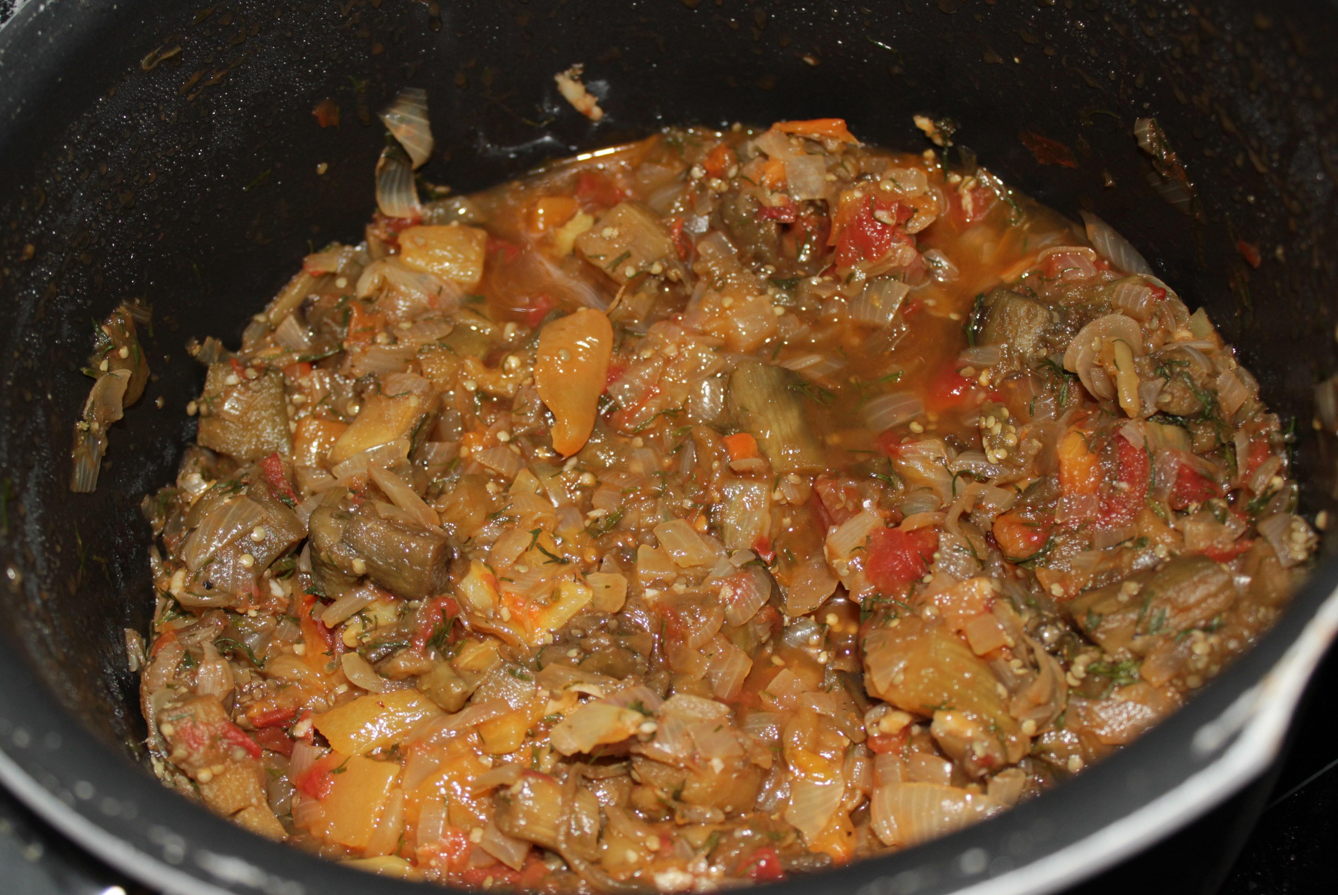Овощное рагу простой рецепт пошагово