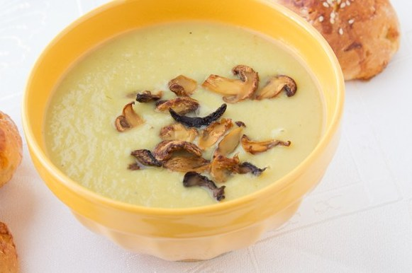 грибной суп с плавленным сыром рецепт с фото