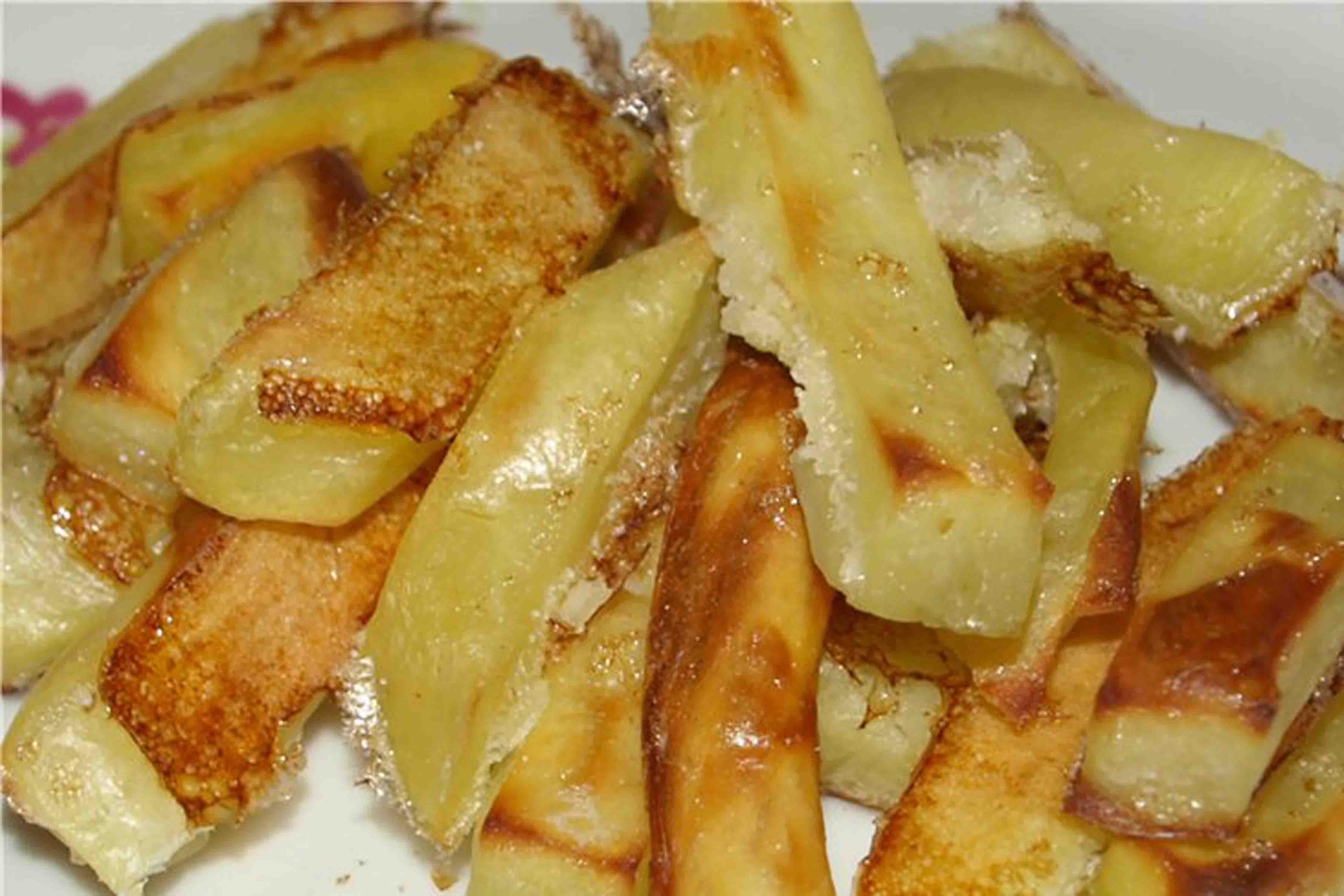 Картофель без масла в духовке рецепт