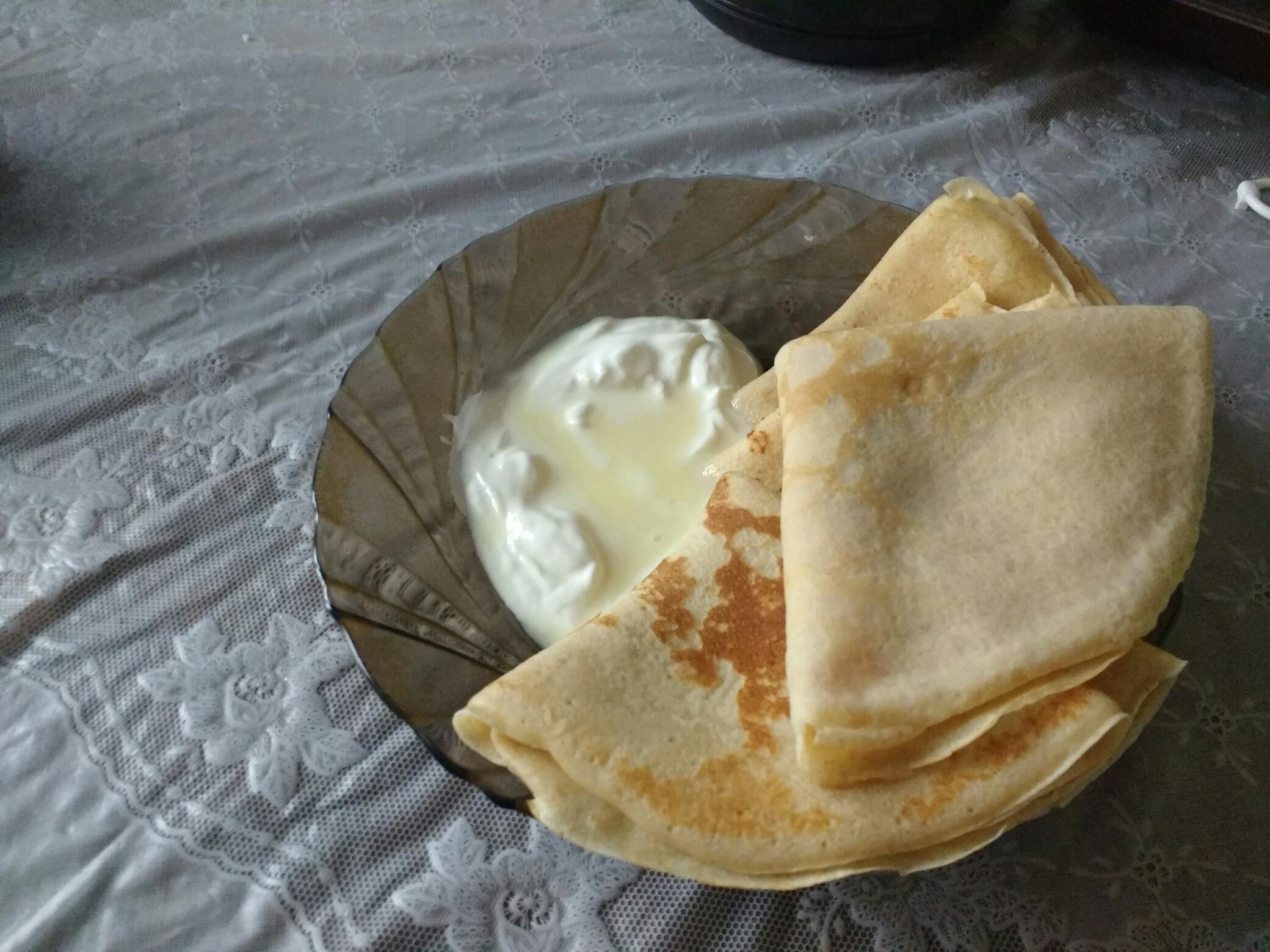 Как сделать блинчики на молоке рецепт фото 856