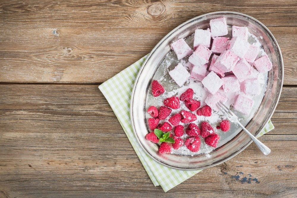 Домашняя розовая пастила