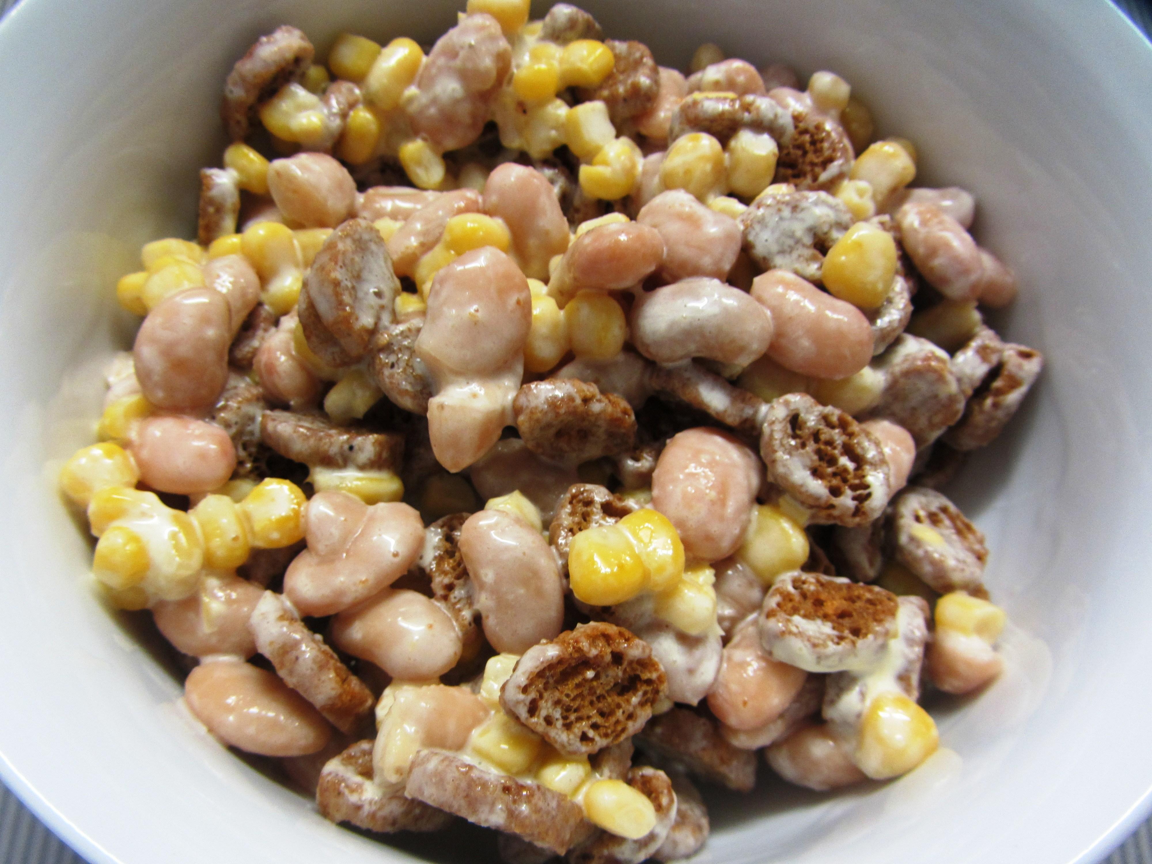 Салат с фасолью кукурузой и яйцом рецепт