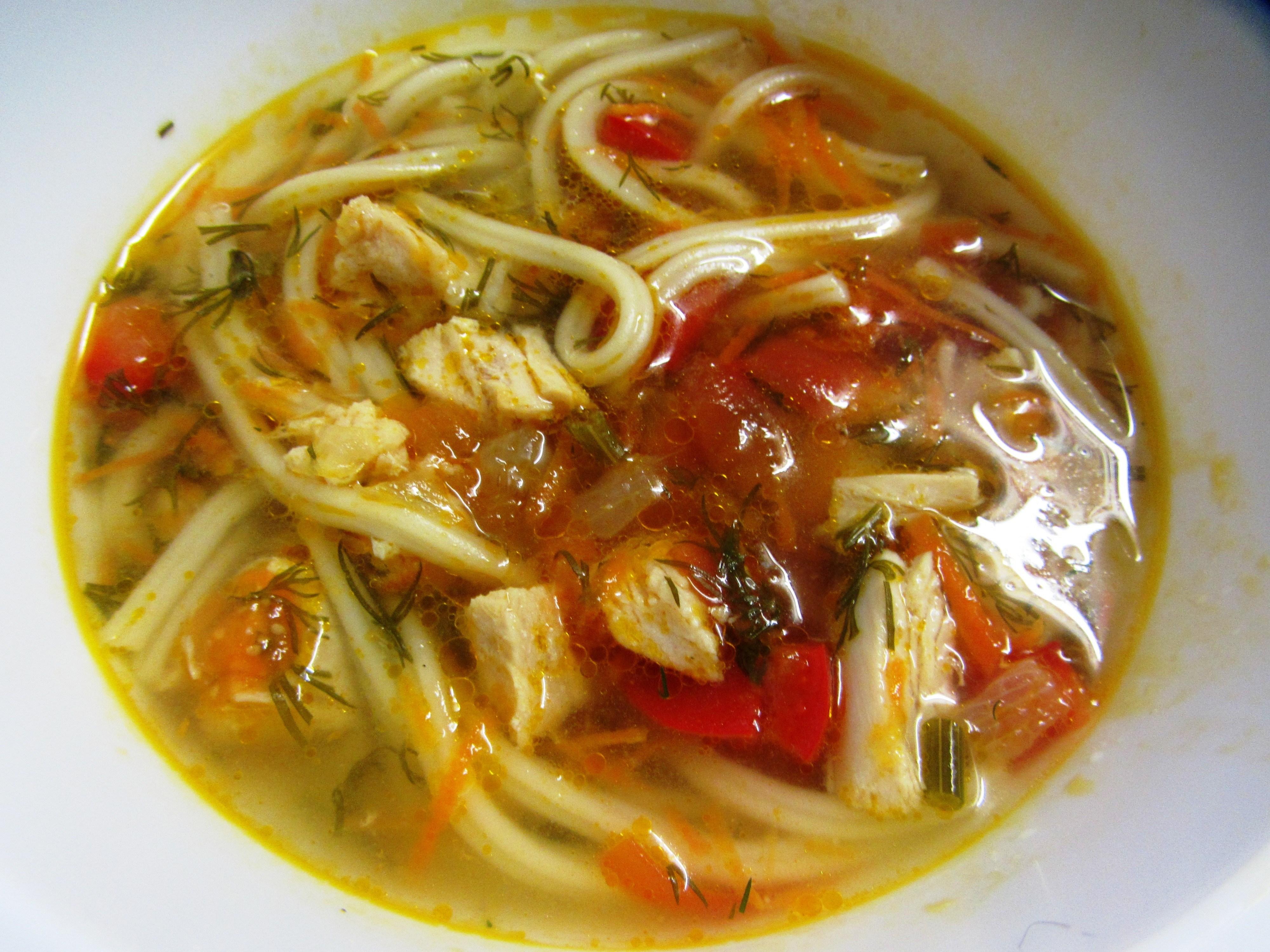 Суп с куриными бедрышками рецепт пошагово в
