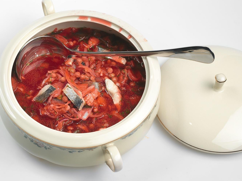 Как сварить красный борщ со свеклой без уксуса рецепт пошагово