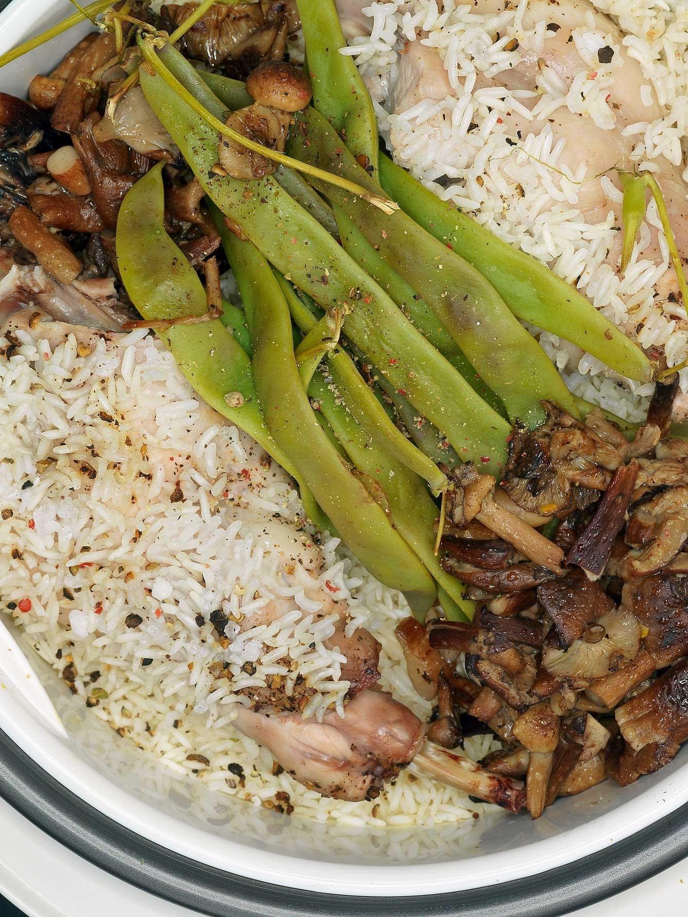 Рис с фасолью рецепт пошагово