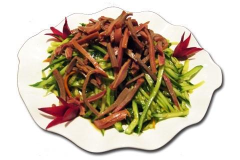 Салат китайский из языка