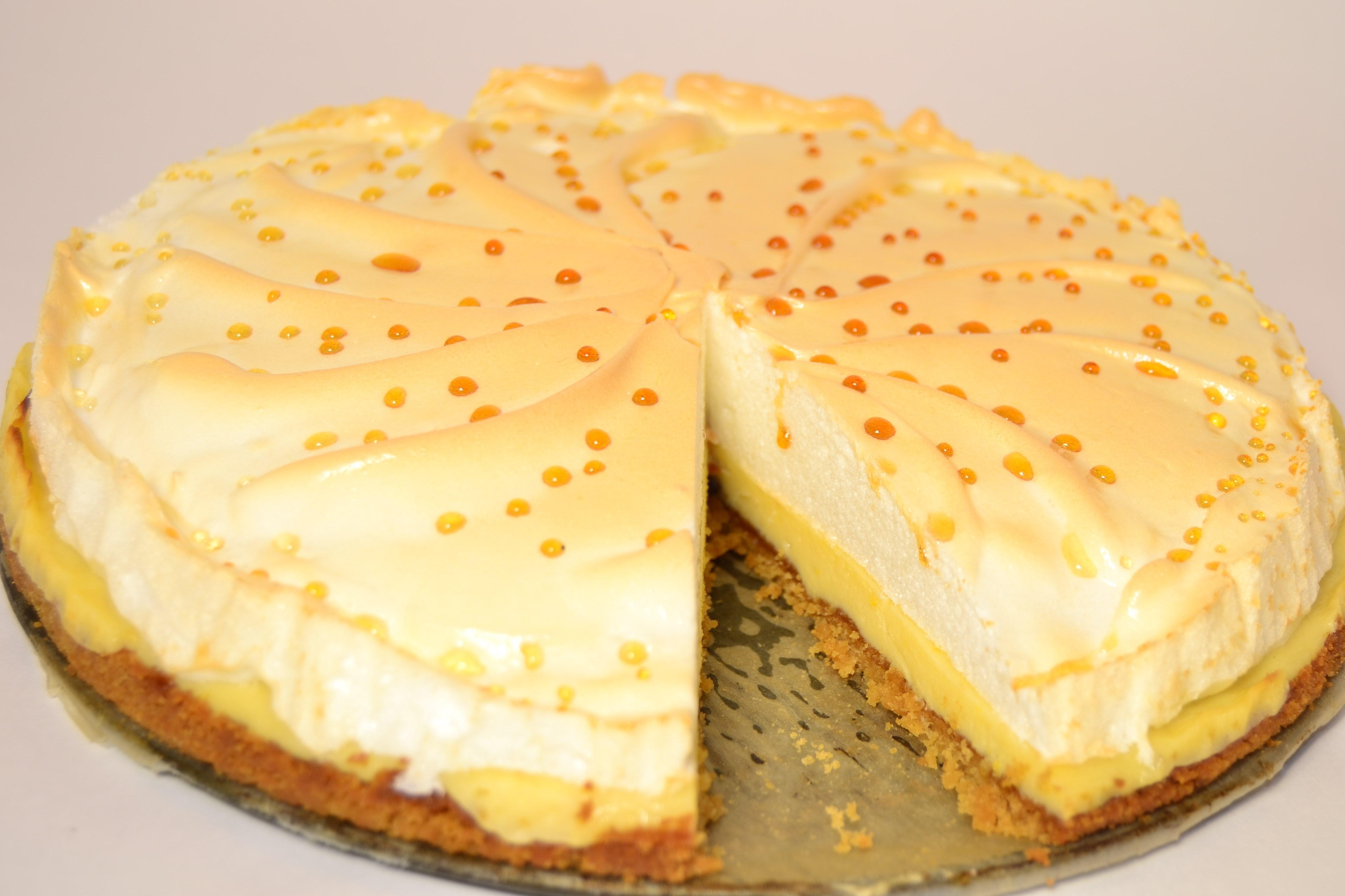 Торт Птичье молоко с манкой и лимоном (пошаговый) 5