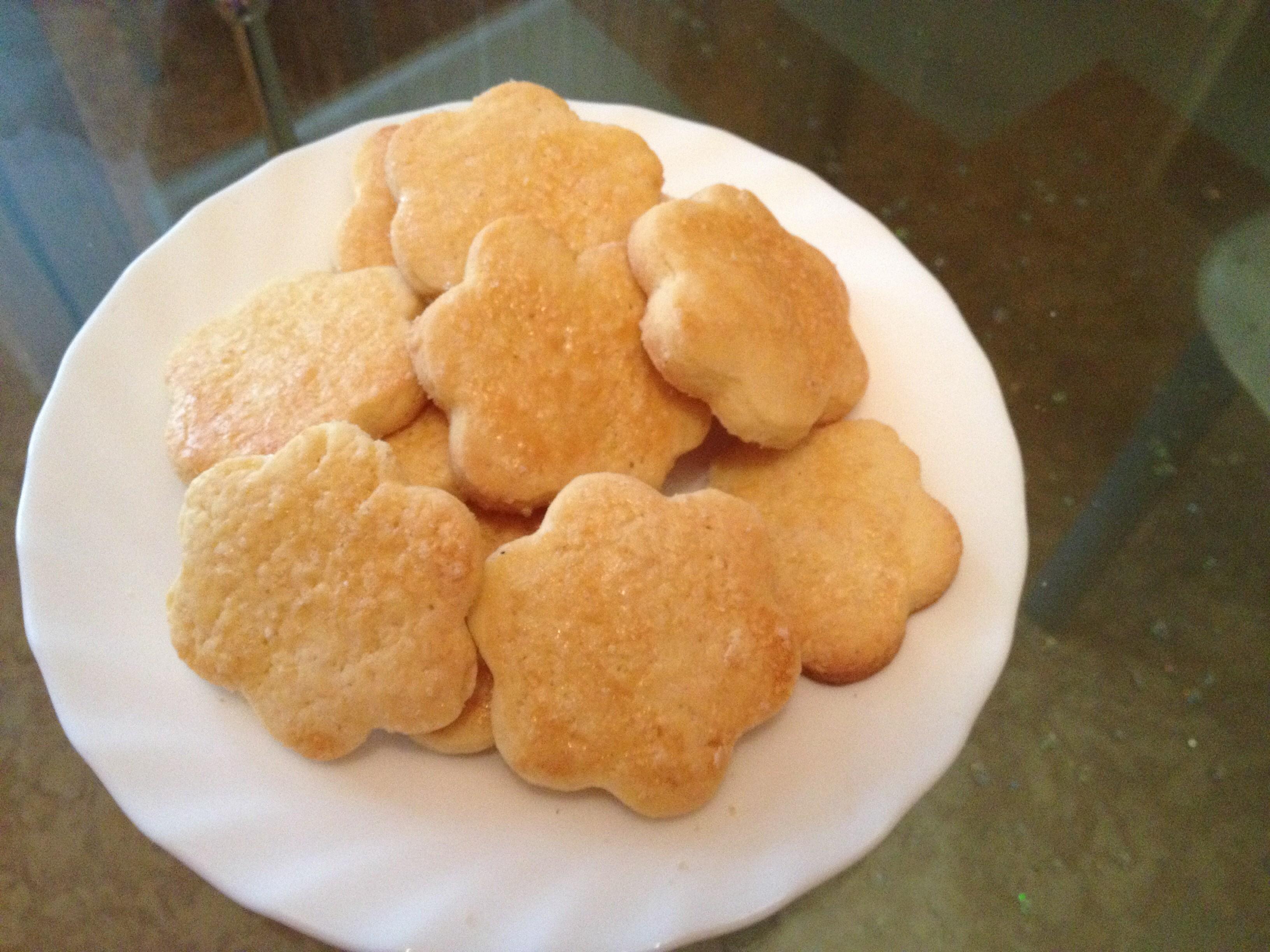 Песочное печенье на желтках