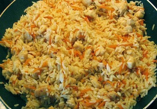 Как правильно готовить плов с курицей пошагово