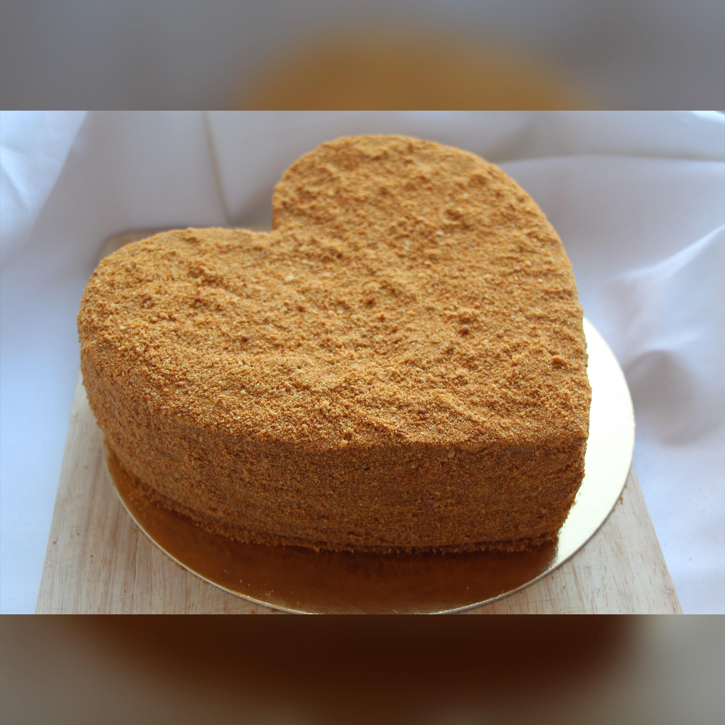 Распечатать торт медовик