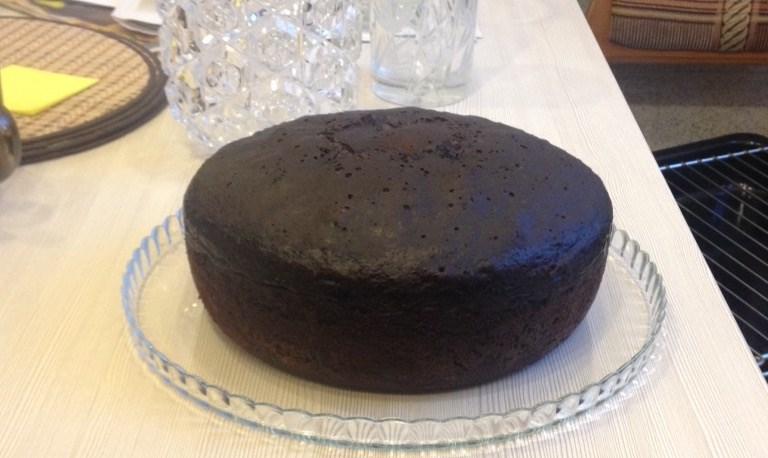 Шоколадный торт в мультиварке пошаговый рецепт с
