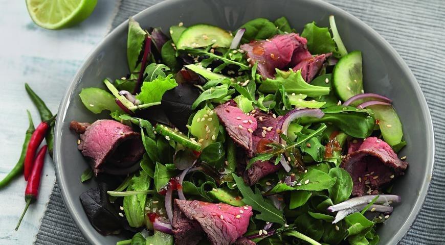 Тайский салат рецепт пошагово с фото