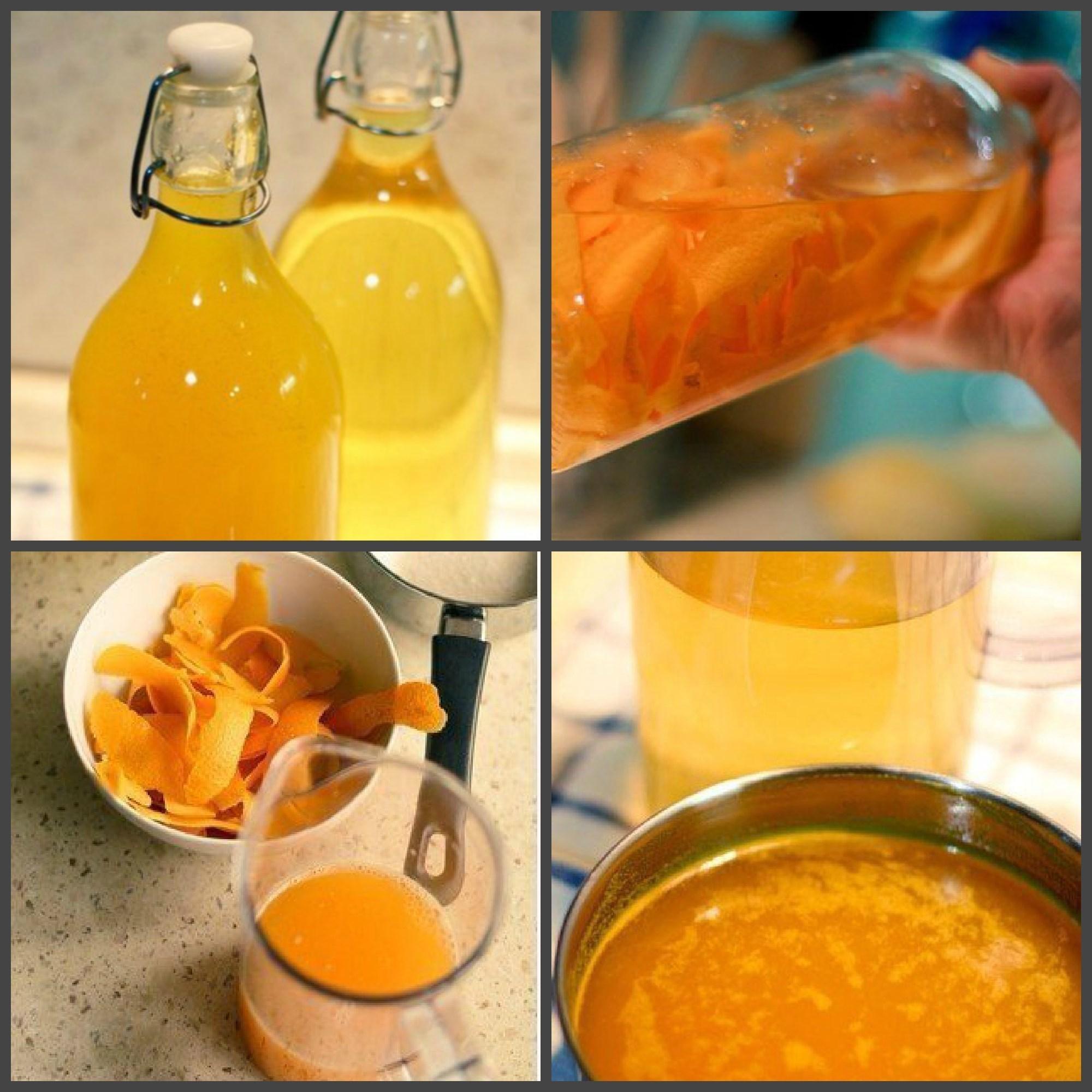 ликёр из апельсинов с кофе рецепт