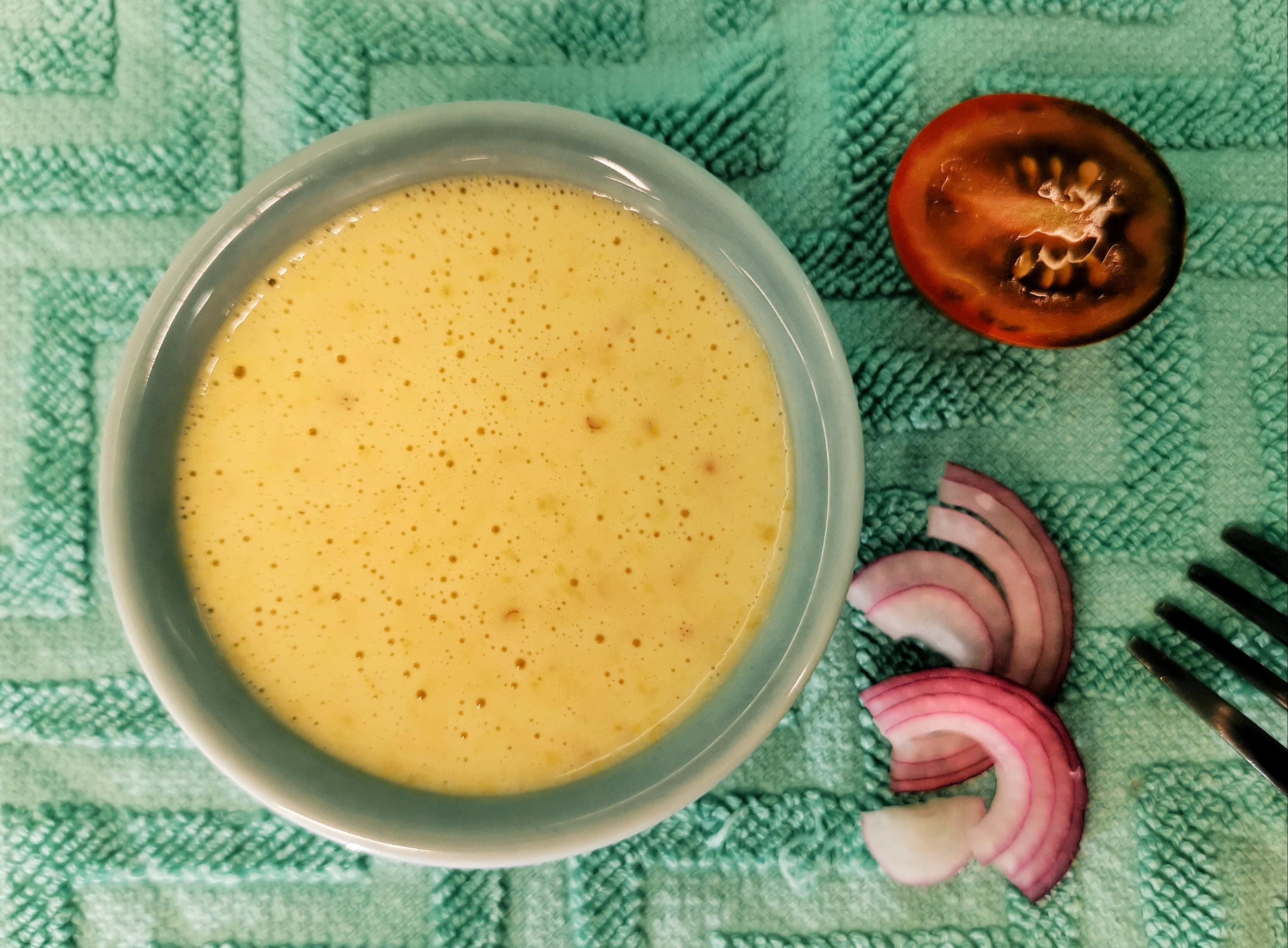 Классический соус к салатам с лимонным соком