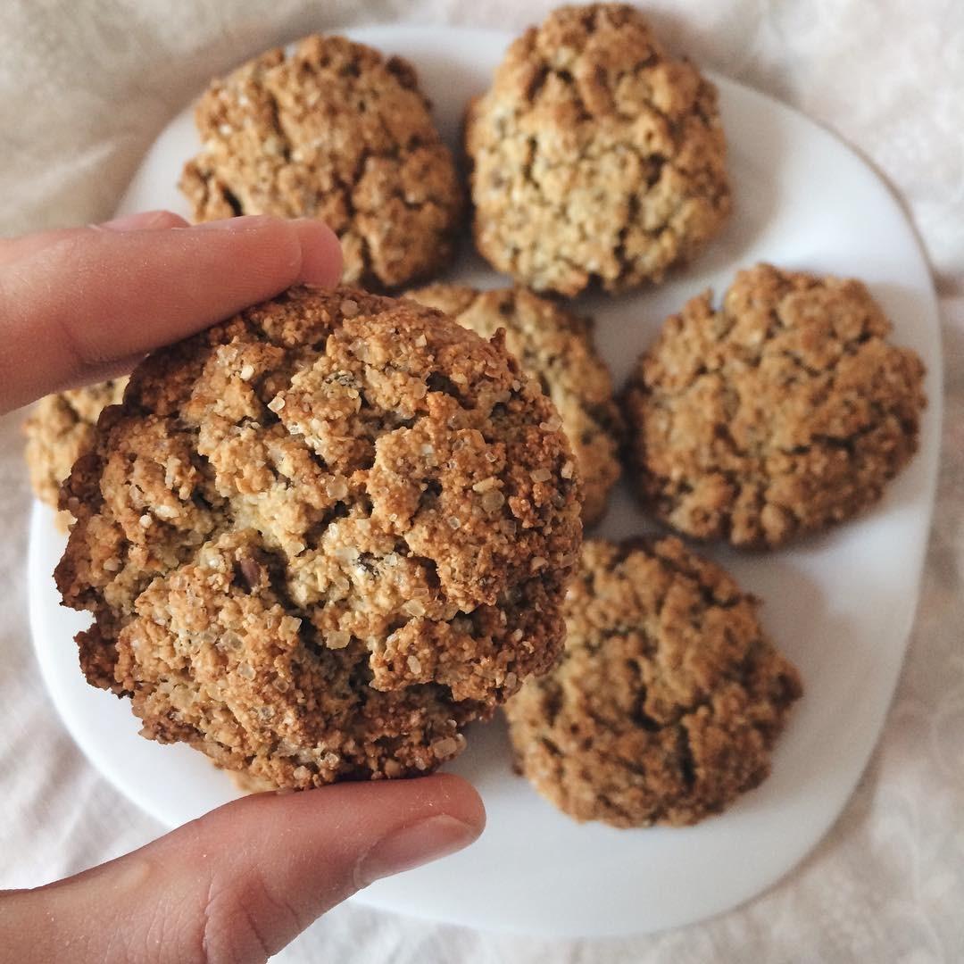 Печенье с льняным семенем рецепт пошагово