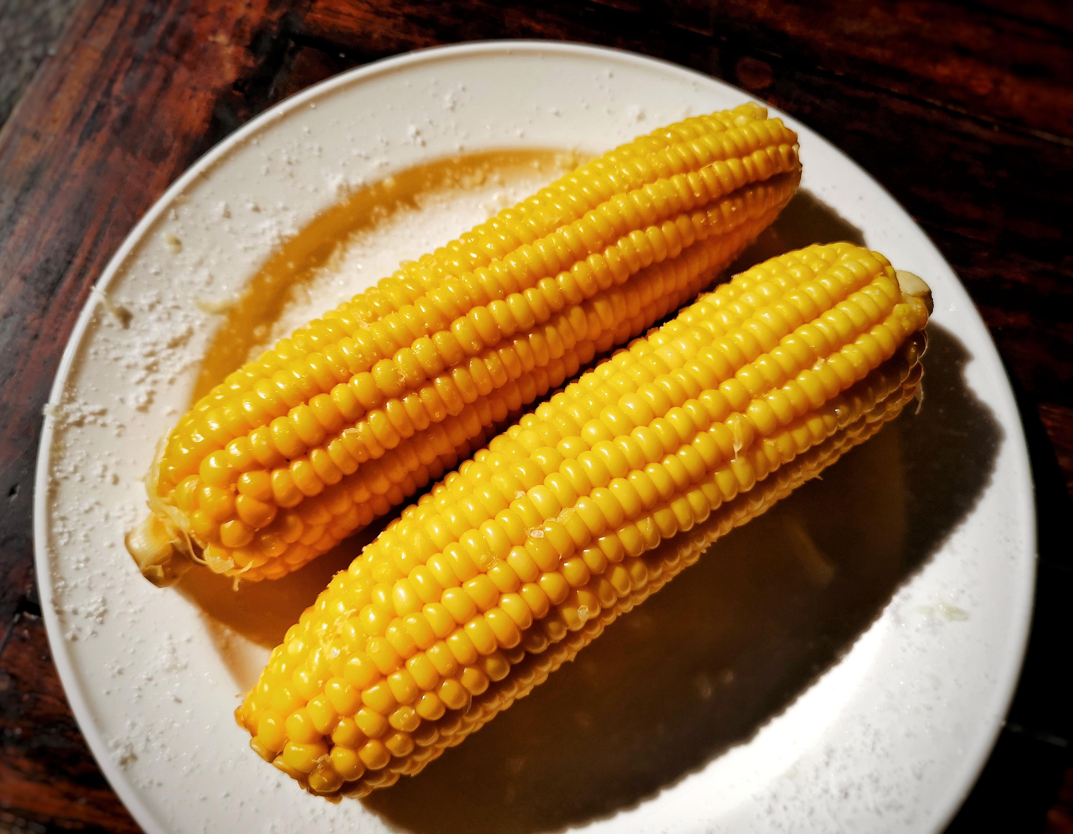 Вареная кукуруза по-мексикански