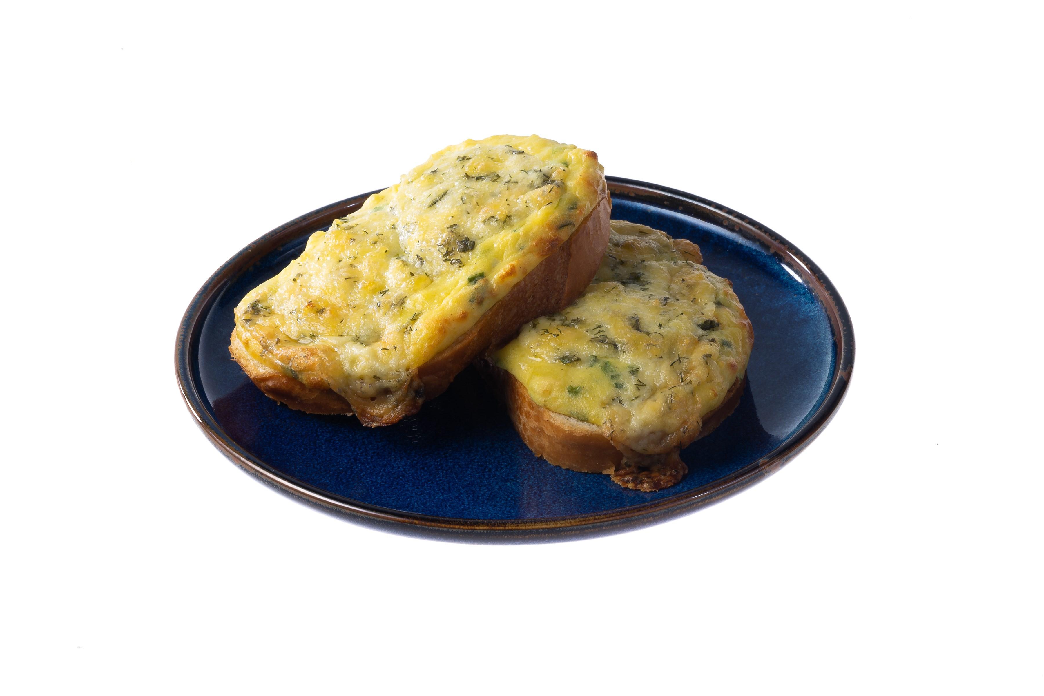 Горячие бутерброды с картофелем и сыром