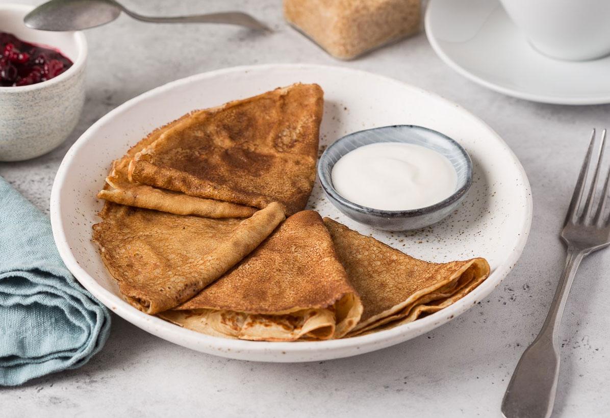 3 современных рецепта блинов к Масленице